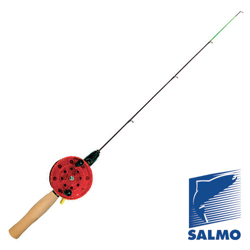 Удочка Зимняя Salmo Ice Lider N 46СмУдочки зимние<br>Удочка зим. Salmo ICE LIDER N 46см рукоят.неопр./шестик <br>стеклопл./вес 65г/ диам.кат.65мм/дл.46см ICE LIDER <br>– легкие и надежные многофункциональные <br>удочки, предназначены, в первую очередь, <br>для ловли на блесны и балансиры. Открытая <br>шпуля позволяет контролировать качество <br>намотки лески, что необходимо для таких <br>удилищ в зимнее время. Удочки имеют удобное <br>клавишное включение – отключение стопора. <br>Надежный стопор обеспечит уверенную подсечку <br>– шпуля катушки всегда будет надежно зафиксирована. <br>Удочки укомплектованы стеклопластиковым <br>шестиком средней жесткости с тюльпаном <br>с керамической вставкой, на рукоятке установлено <br>проводочное кольцо из нержавеющей стали. <br>Удочки 5200-65N укомплектованы мягкими фидерными <br>вершинками с тюльпаном и проводочными кольцами.<br><br>Сезон: зима