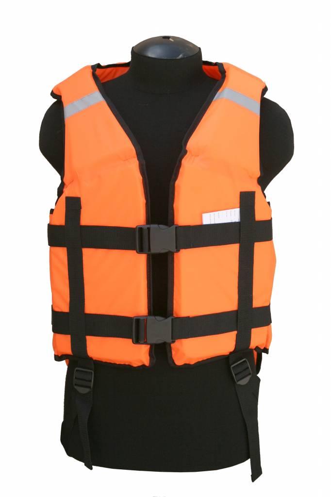 Жилет ХСН охотника спасательный (930-9) (Оранжевый, Жилеты и системы разгрузочные<br>Предназначен для обеспечения безопасности <br>на воде, в туристических походах и сплавах. <br>Оснащен светоотражающими элементами.<br><br>Пол: унисекс<br>Размер: 56-62<br>Сезон: все сезоны<br>Цвет: оранжевый<br>Материал: Oxford 210 (100% п.э.)