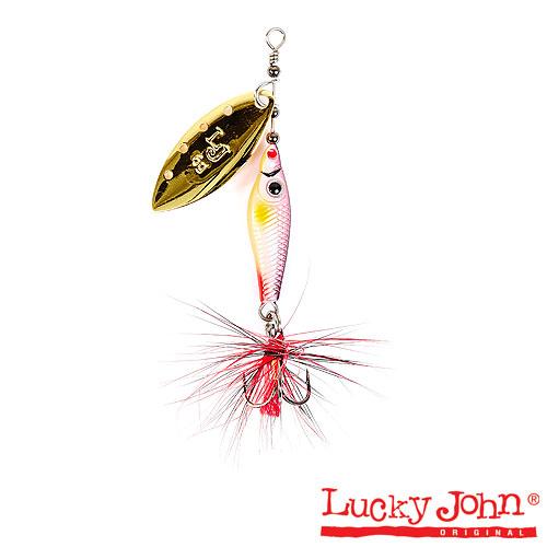 Блесна Вращающаяся Lucky John Trian Blade Long 06.0Г • 002