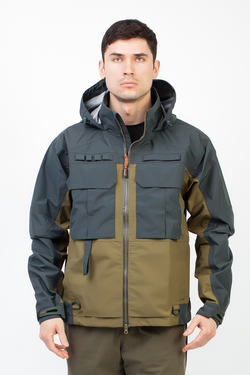 Куртка Брод (Таслан/Зеленый) TRITON (52-54/170-176)Куртки неутепленные<br>Куртка Брод укороченая, разработана <br>для рыбалки в летний период. Удобная, не <br>стесняющая движения с анатомическим кроем, <br>изготовлена из качественного материала <br>с комбинированными по цветам тканями. Куртка: <br>1) Куртка укороченая среднего обьема; 2) В <br>правой плечевой части полочки петля Третья <br>рука на контактной ленте, и с противоположной, <br>петля-держатель для фиксации удочки. 3) Тесьма-вешалка <br>с нашитыми петлями; 4) В левой плечевой части <br>полочки расположена ленточная вешалка <br>с нашитыми петлями для подвешивания мелких <br>элементов снаряжения; 5) Проклеенные швы; <br>6) Анатомический крой; 7) 7 карманов: 2 накладных <br>кармана с регулировкой объема, 5 карманов <br>на молнии; 8) Светоотражающие элементы; 9) <br>Центральная водонепроницаемая застёжка-молния. <br><br><br>Пол: мужской<br>Размер: 52-54<br>Рост: 170-176<br>Сезон: демисезонный<br>Цвет: оливковый