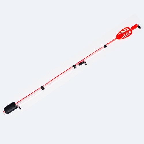 Сторожок Sandwich Jig Boat 20См/тест 10-30ГСторожки<br>Сторожок SANDWICH JIG BOAT 20см/тест 10-30г дл.20см/тест <br>10-30г/кол. в опт. уп.1шт Кивки Sandwich JIG BOAT предназначены <br>для ловли с лодки на среднем течении, на <br>бортовые удочки с безинерционной или инерционной <br>катушкой. Конструкционные особенности <br>кивков допускают как активную рыбалку с <br>анимацией приманки, так и использование <br>кивков в качестве высокочувствительного <br>сигнализатора поклевки. Яркое ветроустойчивое <br>перо позволяет видеть осторожные поклевки <br>даже во время ветра. Пропускные кольца допускают <br>применение и монофильной и плетеной лески <br>на этой снасти. Кивок устанавливается на <br>конец удилища, на котором нет кольца-тюльпана. <br>Если ваше бортовое удилище имеет на конце <br>тюльпан, его необходимо демонтировать.<br><br>Сезон: лето
