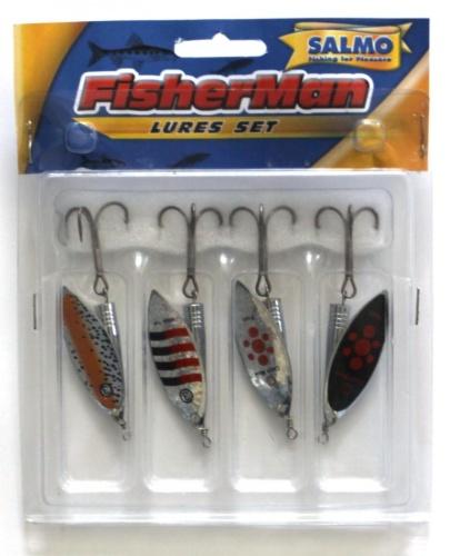 Блесны Вращающиеся Fisherman КомплектНаборы блесен<br>Блесны вращ. Fisherman набор<br><br>Сезон: Летний