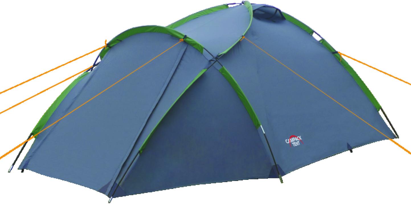 Палатка туристическая CAMPACK-TENT Land Explorer 3 палатка трехместная campack tent breeze explorer 3