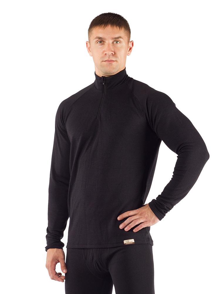 Футболка мужская Lasting WIRY, черная АвантмаркетФуфайка<br>Описание мужской футболки Lasting WIRY: Мужская <br>термофутболка на длинный рукав из шерсти <br>Merino wool 260g Double Heavy - двухслойный толстый материал, <br>который обеспечивает быстрое испарение <br>пота и идеальную сухость Вашей кожи во время <br>занятий спортом или другой подвижной деятельности, <br>а также держит тепло. Шерстяное термобелье, <br>которое также можно использовать как второй <br>слой одежды, вместо флиса для очень холодной <br>морозной погоды. Оно прекрасно подойдет <br>для использования в городе, для катания <br>на лыжах с остановками, а также для охоты <br>и рыбалки.Дополнительные преимущества <br>– воротник в виде стойки (с молнией) и рукав-реглан <br>(имеет прорезь для пальца). Особенности: <br>- мужское термобелье - тонкий плоский шов <br>- зона из усиленного двойного утепленного <br>слоя сзади - воротничок-стойка 6 см - двухслойная <br>кулирная вязкая - рукав реглан - манжет с <br>отверстием для пальца - мягкая шерсть, не <br>колется - трудновоспламеняющаяся - не имеет <br>неприятного запаха после использования <br>- терморегулирующие свойства (за счет воздушных <br>каналов зимой согревает, летом - охлаждает) <br>- хорошо поглощает влагу (30% от собственного <br>веса) - согревает даже если влажная Применение: <br>город, треккинг, зимние виды спорта, охота, <br>рыбалка Материал: 100% Merino wool 260 g Double Heavy Рекомендуется <br>покупать в комбинации с термоштанами WICY <br>Таблица размеров мужского (unisex) термобелья <br>Lasting Размер M L XL XXL Рост 165 - 170 171 - 175 176 - 180 181 <br>- 185 Обхват груди 92-96 96-104 104-108 108-112 Обхват <br>талии 84-90 91-96 97-103 104-110 Обхват бедер 90-94 94-98 <br>98-104 104-108 Длина штанины 100 103 107 110<br><br>Материал: {шерсть, плотность 260 г/м2}