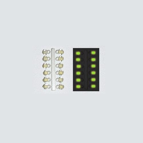 Подвес-Серьга Микро-Бис Шар Желт. Светонакоп • 3.1Мм К 12Шт. 61-591
