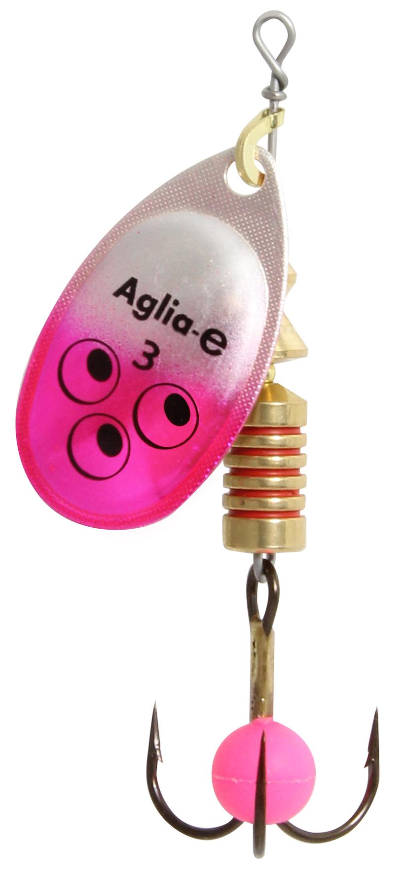 Блесна вращ. MEPPS Aglia E №1 Pink Bright (12шт)Блесны<br><br>