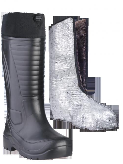 Сапоги ЭВА мужские зимние Nord (SARDONIX) -60С, Сапоги для активного отдыха<br>Сапоги выполнены из современного материала <br>ЭВА.Обладают высокой степенью теплоизоляции-сохраняют <br>тепло при морозе до -60 С, защищают от проникновения <br>влаги, Легче аналогов из ПВХ на 40%-вес 1-ой <br>пары 700 гр.Обеспечивают безупречный комфорт <br>при ходьбе. Комплектуются 2-х сл. вкладными <br>утеплителями из фольгированного нетканного <br>ворсового полотна и искуственного меха <br>с добавлением натуральной шерсти , надставкой <br>из плотной водооталкивающей ткани Оксфорд. <br>Область применения достаточно широка: от <br>обуви для зимней рыбалки и охоты до рабочей <br>обуви, не связанной с агрессивными средами. <br>Высота сапог 40см.<br><br>Пол: мужской<br>Размер: 46-47<br>Сезон: зима<br>Цвет: черный<br>Материал: этиленвинилацетат (ЭВА)
