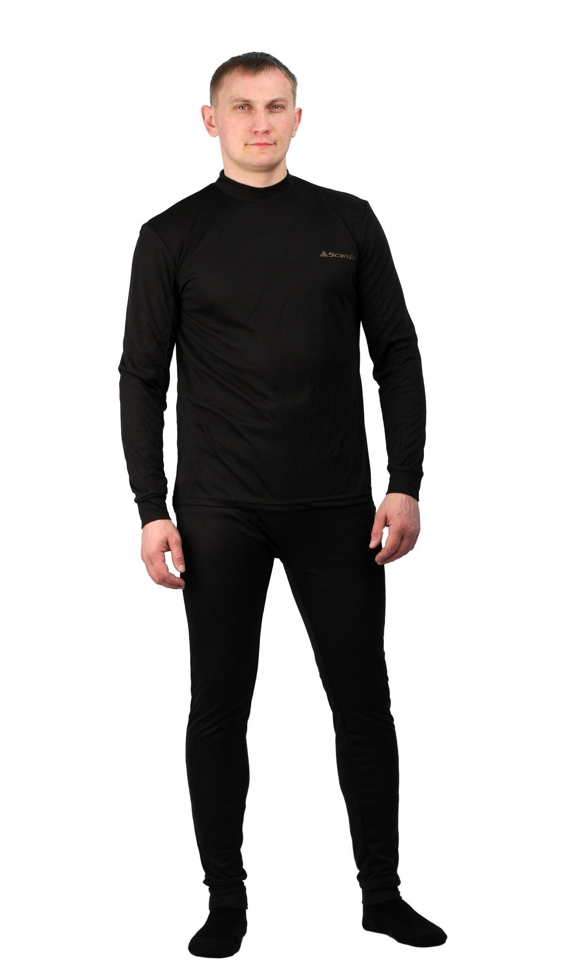 Термобельё Scandin Dry RangeКомплекты термобелья<br>Эластичный материал термобелья хорошо <br>прилегает к телу, не ограничивает свободу <br>движений и быстро выводит излишнюю влагу <br>тела на внешний слой материала. Термобелье <br>используется как первый слой одежды, оно <br>одевается на голое тело или на тонкое термобелье. <br>Куртка: Высокий воротник. Передняя застежка-молния. <br>Облегающий крой. Штаны: Эластичный пояс. <br>Облегающий крой. Материал: NORfleece Stretch (90% <br>полиэстер, 10% спандекс) эластичная ткань, <br>растягиваемая в 4-х направлениях. износоустойчивая <br>поверхность. хорошая «дышащая» способность. <br>быстро сохнет. Предназначено для средней <br>активности в очень холодную погоду. Вес: <br>960 грамм.<br><br>Пол: унисекс<br>Сезон: зима<br>Цвет: черный<br>Материал: флис