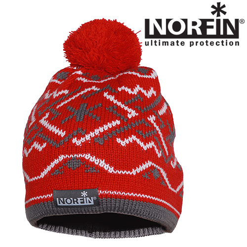 Шапка Norfin Women Norway Red