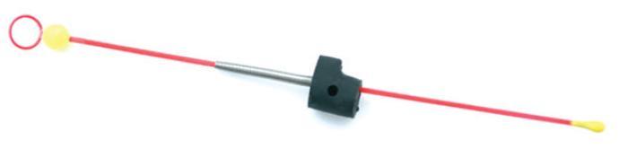 Сторожок универсальный с бусинкой №3 ЛЮКС(ФЦ Сторожки<br>Сторожки изготовлены из часовой пружинки <br>более высокого качества с полимерным напылением <br>флуоресцентных тонов. Универсальное морозоустойчивое <br>крепление позволяет установить сторожок <br>под углом 90 градусов к шестику. Примемнение <br>конического амортизатора из нержавеющей <br>стали позволяет точнее и в большем диапазоне <br>регулировать грузоподъемность во время <br>ловли. Коническая пружинка стабилизирует <br>мормышку при ловле на игру. Двойной кембрик <br>равномерно распределяет нагрузку по рабочей <br>поверхности сторожка. При ловле на несколько <br>удочек бусинка позволяет увидеть поклевку <br>с большего растояния. Популярность самой <br>массовой серии часовая пружинка обусловлена <br>целым рядом достоинств: - отсутствие обратной <br>деформации - нержавеющая часовая пружина <br>высокого качества - через увеличенное металлическое <br>колечко свободно проходят мелкие и средние <br>мормышки - Морозоустойчивое крепление с <br>пружинным амортизатором - Удобная регулировка <br>грузоподъемности во время рыбной ловли <br>длина (мм) 135 грузподъемность (г) 0,50-2,50<br>