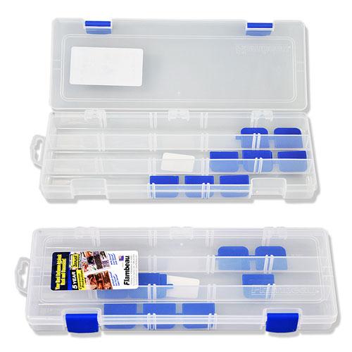 Коробка Рыболовная Пластмассовая Flambeau • 3 Fixed Compt. W/adjust.dividers And Zerust