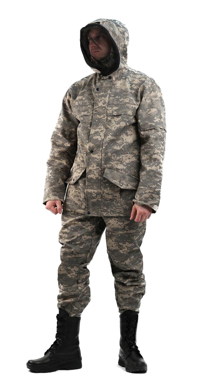 Костюм мужской Gerkon Raptor летний светло-серая Костюмы противоэнцефалитные<br>Костюм куртка, брюки Модельные особенности: <br>- антимоскитный костюм - капюшон сложной <br>конструкции, полностью исключающей проникновение <br>насекомых под одежду; - противомоскитная <br>сетка отстегивается и убирается в карман, <br>расположенный на капюшоне; - карманы с наклонным <br>входом и фигурными клапанам, застегивающимися <br>на кнопки; - рукава оснащены внутренними <br>трикотажными манжетами; - усиления в области <br>локтей и коленей; - регулировка по низу куртки <br>и низу брюк; - пояс брюк на резинке со шлёвками; <br>- боковые карманы; - по низу брюк пуфта.<br><br>Пол: мужской<br>Размер: 56-58<br>Рост: 170-176<br>Сезон: лето<br>Цвет: серый<br>Материал: Смесовая, пл. 210 г/м2,