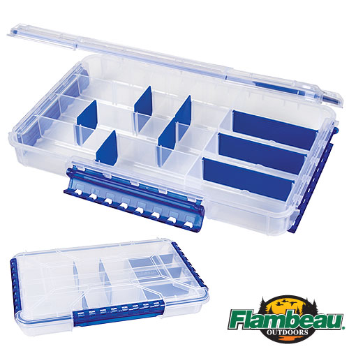 Коробка Рыболовная Пластмассовая Flambeau Waterproof Tt 5 Zerust WP5005