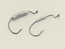 Крючок офсетный огруженный (Eagle Claw 4/0) 15гр. Офсетные<br>Крючок офсет отгружен так, что центр тяжести <br>держит рыбку Твистер в положении плавающей <br>рыбки. Не позволяет ей опрокидываться на <br>бок.<br>