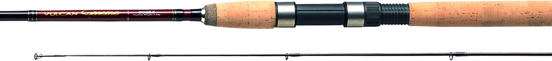 Спиннинг штек. DAIWA Vulcan Supreme 1002 M 3,03м (6-18г)Спинниги<br>Профессиональные спиннинги, которые отвечают <br>любым требованиям рыболова . » Изготовлены <br>из высококачественного углепластика » <br>Быстрый строй » Широкий выбор из 14 моделей <br>(от 7 до 10 футов) » Высококачественный катушкодержатель <br>Fuji » Высококачественная пробковая рукоятка<br>