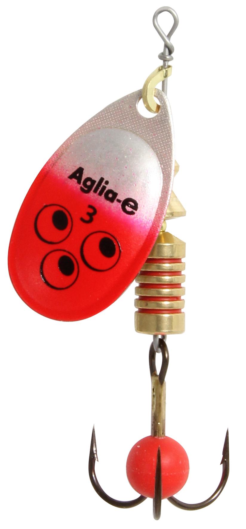 Блесна вращ. MEPPS Aglia E блистер №3 Red BrightБлесны<br><br>