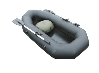 """Лодка ПВХ """"Компакт-180""""*** гребная (С-Пб) (цвет  серый)"""
