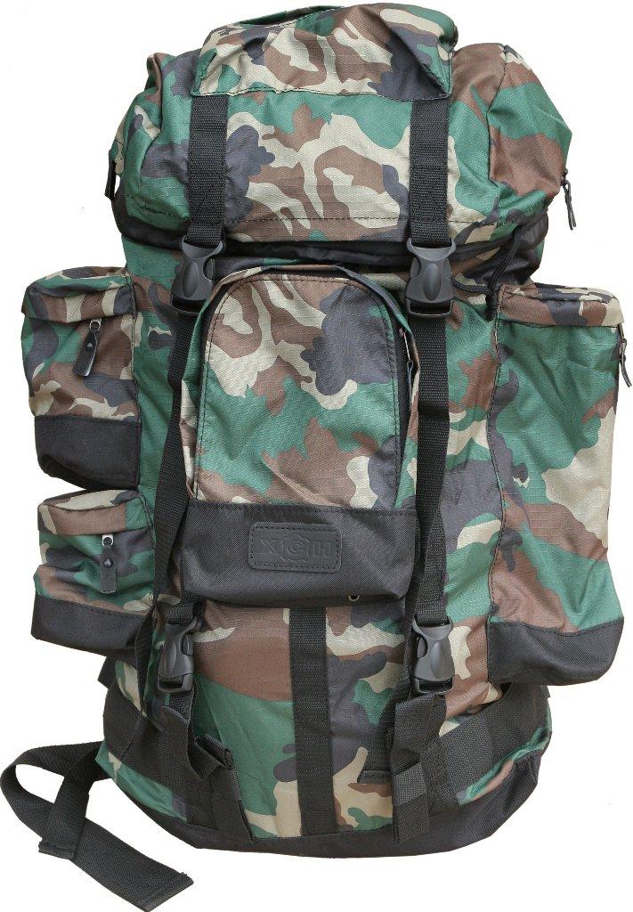Рюкзак охотника ХСН №1, 70литровРюкзаки<br>Отлично подойдет любителям активного отдыха <br>и походов. Изготовлен из водооталкивающего <br>материала. Объем 70 литров. Особенности: <br>- специальная система для крепления оружия; <br>- съемный карман; - S образные анатомические <br>лямки; - удобный поясной ремень; - четыре <br>наружных кармана на молнии; - объемный клапан <br>с карманом; - грудной фиксатор; - пряжки-самосбросы.<br><br>Пол: унисекс<br>Сезон: Всесезонная<br>Цвет: зеленый<br>Материал: Oxford 600 D PU рип-стоп