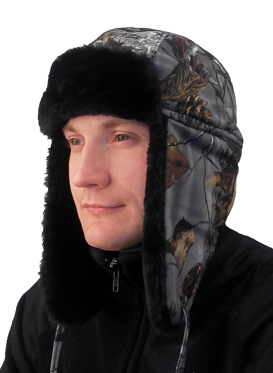 Шапка Антифрост кмф дубок (56)Шапки<br>Шапка на подкладке из искусственного меха, <br>Затяжник в затылочной области, регулирующий <br>объем шапки.<br><br>Пол: мужской<br>Размер: 56<br>Сезон: зима<br>Цвет: серый
