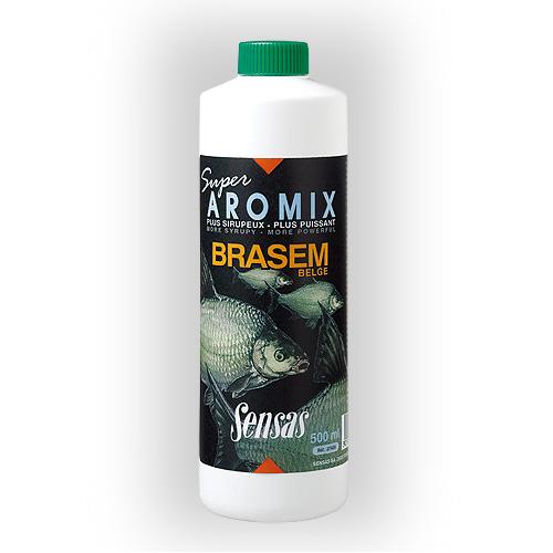 Ароматизатор Sensas Aromix Brasem Belge 0.5ЛАроматизаторы<br>Ароматизатор Sensas AROMIX BRASEM Belge 0.5л сироп/Лещ/10-25% <br>от объема воды/уп.0,5л Новая добавка ,разработанная <br>опытнейшими бельгийскими рыболовами-спортсменами, <br>расчитана на привлечение даже самых осторожных <br>лещей к вашей прикормке<br><br>Сезон: лето