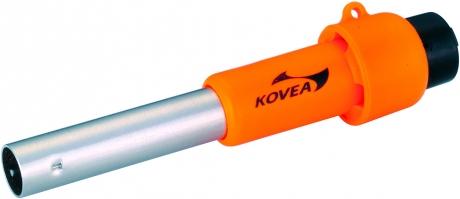 Пьезоподжиг Kovea КI-1007Аксессуары<br>Если у вас сломался или отсырел пьезоподжиг <br>на вашей горелке, воспользуйтесь автономным <br>«пьезиком», который лежит у вас в кармане. <br>Он не отсыревает, даже если его кинуть в <br>воду, и рассчитан на 10000 срабатываний. Вы <br>всегда подожжете газовую горелку или резак, <br>но не пытайтесь поджечь газовую лампу или <br>жидко-топливную горелку. Некоторые модели <br>горелок, не имеющие своего штатного пьезоподжига, <br>комплектуются пьезоподжигом KI-1007. Характеристики: <br>Вес: 14 г. Комплектация Пьезоподжиг Ремешок<br>