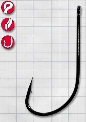 Крючок GAMAKATSU F314 №12 (25шт.)Одноподдевные<br>Крючок для ловли нахлыстом, предназначенный <br>для вязания плавающих и заглубляющихся <br>насадок, прекрасно подходит для ловли щуки <br>и окуня.<br>