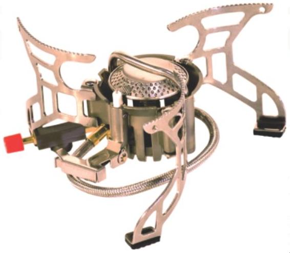 Горелка газовая СЛЕДОПЫТ Огненная буря Горелки<br>Эта высокотехнологичная газовая горелка <br>оборудованная гибким шлангом и системой <br>предварительного подогрева топливной смеси. <br>Длина гибкого шланга увеличена до 50 см., <br>что положительно сказывается на потребительских <br>свойствах плиты и повышает уровень безопасности <br>для пользователя. А система предварительного <br>подогрева топливной смеси обеспечивает <br>стабильную работу горелки при низких температурах, <br>а также позволяет горелке работать на жидких <br>фракциях газа (при подключении баллона <br>в перевернутом положении). Также плита оборудована <br>системой пьезоэлектирческого розжига Резиновая <br>подошва опорных ножек плиты обеспечивает <br>хорошую устойчивость на мокрых и обледенелых <br>поверхностях. Для питания плиты используются <br>газовые смеси в баллонах FG-230, FG-450 и FG-600 с <br>резьбовым клапаном, а также баллоны FG-220 <br>нажимного типа с цанговым патроном используя <br>переходник PF-GSA-01 или PF-GSA-03 (поставляется <br>отдельно). ХАРАКТЕРИСТИКИ: Мощность горелки: <br>3,5 кВт. Диаметр горелки: 50 мм. Вес горелки: <br>380 гр. Размер в разложенном виде: диаметр <br>-200 мм. высота - 95 мм. Размер в походном положении: <br>100 х 100 х 95 мм. Макс. диаметр используемой <br>посуды: 250 мм. Максимальная вертикальная <br>нагрузка: 20кг (20 л. воды).<br>