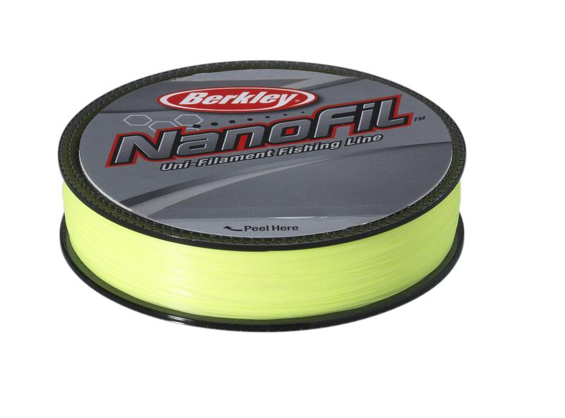 Леска плетеная BERKLEY NanoFil 0.1105mm (125m)(5.732kg)(ярко-желтая) Леска плетеная<br>Berkley NanoFil - новое слово в рыболовных лесках. <br>Это уникальное явление на рыболовном рынке, <br>впервые удалось достигнуть высокой прочности <br>и низкой растяжимости при крайне малых <br>диаметрах. Можно сказать, что леска Nanofil <br>не является ни плетеной леской, ни моно <br>ниткой, это нечто стоящее посередине. Материалом <br>для лески служит все та же известная всем <br>Dyneema, но в отличие от лесок прошлого поколения <br>микроволонка соединены между собой на молекулярном <br>уровне, таким образом, возросшая модульность <br>материала позволила создать леску меньшего <br>диаметра, с отличными показателями на разрыв <br>и растяжимость. Сделано в США.<br>
