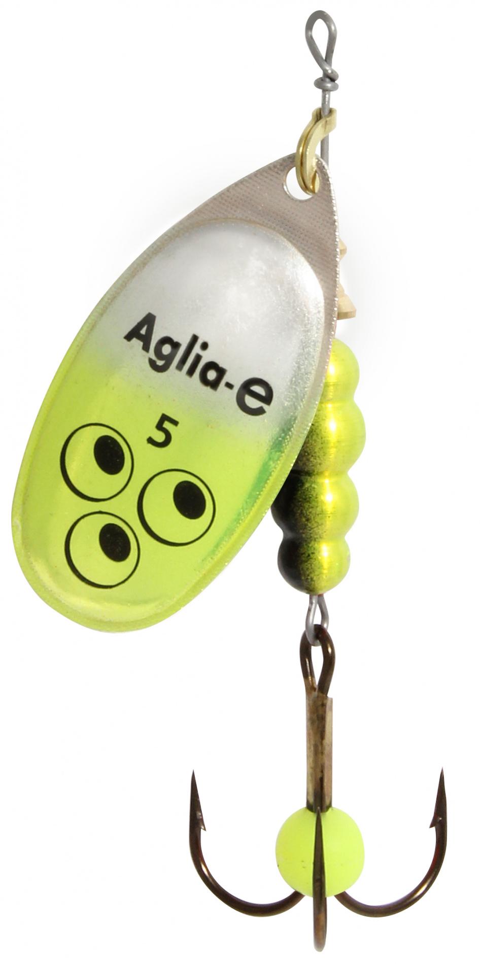 Блесна вращ. MEPPS Aglia E №5 Chartreuse Bright (12шт)Блесны<br><br>