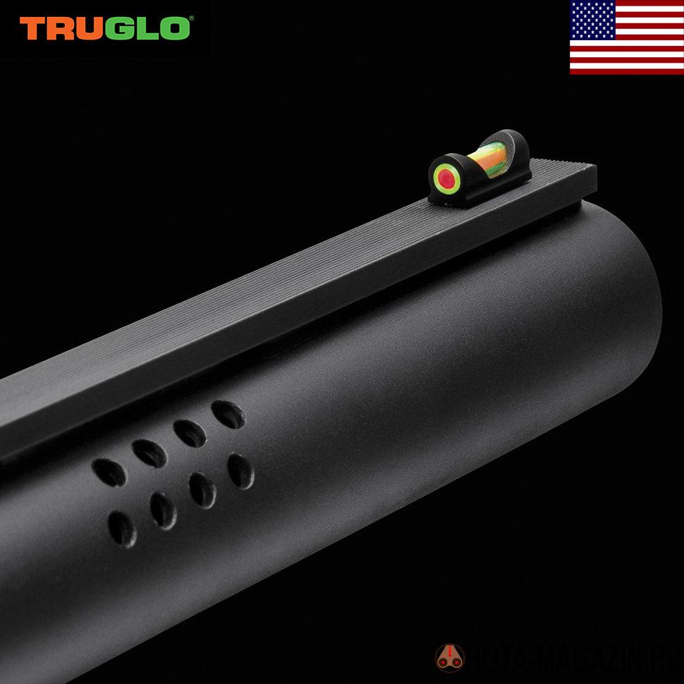 Мушка ввинчивающаяся из оптоволокна Truglo Мушки для оружия<br>Мушка ввинчивающаяся из оптоволокна Truglo <br>TG948 мушка с двухцветным оптоволокном красного/зелёного <br>цвета. Основание мушки из металла и прочного <br>нейлона ввинчивается вместо «родной» мушки. <br>Диаметр оптоволокна 3 мм. Модель TRUGLO TG948CD <br>(00948CD) рекомендована для установи на Beretta, <br>Benelli, Stoeger, Perazzi и другие виды оружия с посадочной <br>резьбой 2,6 мм. Модель TRUGLO TG948ED (00948ED) рекомендована <br>для установи на Browning, Charles Dali, Franchi, Winchester <br>и другие виды оружия с посадочной резьбой <br>3 мм. Выбирайте нужную модель при заказе <br>(цвет, материал, диаметр) - смотреть таблицу <br>подбора производителя!<br>