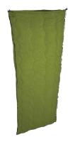 """Спальный мешок Woodland ENVELOPE 200Спальники<br>Цвет: Светло-зеленый Размер: 180x75cm Внешняя <br>ткань: POLYESTER 70D Water Resist Подкладка: POLYESTER FLANNEL <br>75D X 100D Наполнение: HOLLOW FIBER (200 г/м2) Вес: 1,04 <br>кг. """"Спальный мешок-одеяло ENVELOPE 200 – идеальный <br>выбор для любителей летних туристических <br>походов и кемпинга. Высококачественный <br>утеплитель Hollow Fiber отлично сохраняет тепло, <br>при этом легок и пропускает воздух, благодаря <br>чему летние ночевки на природе будут максимально <br>комфортными. Клапан с «липучкой» Velkro не <br>даст молнии расстегнуться. Спальник ENVELOPE <br>200 имеет вес всего 1,04 кг., что облегчает транспортировку <br>и не займет много места в рюкзаке.<br><br>Сезон: лето"""