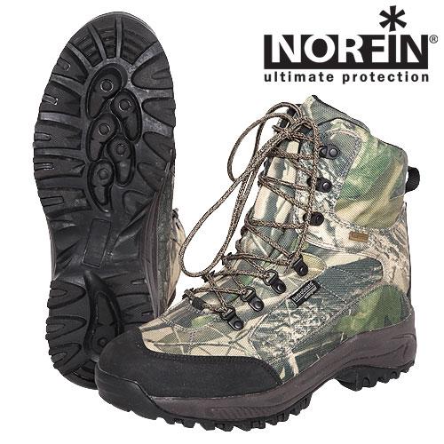 """Ботинки Norfin Ranger (46, 13993-46)Ботинки для активного отдыха<br>Ботинки предназначены как для рыбалки, <br>охоты и активного отдыха, так и для повседневного <br>использования. Изготовлены из мембранного <br>материала с высокой влагостойкостью. Наличие <br>высокой подошвы и легкого утеплителя не <br>позволит замерзнуть ногам. Особенности: <br>- усиленный в нужных местах материал; - верхняя <br>часть ботинок сделана из мембранного материала; <br>- прочные, длинные шнурки; - легкий утеплитель <br>Thinsulate; - подошва из резины и EVA; - петля на <br>задней части ботинка для удобства одевания; <br>- сплошной """"язычок"""" исключающий попадание <br>влаги внутрь; - невынимаемая внутренняя <br>стелька; - глубокий протектор для сцепления.<br><br>Пол: мужской<br>Размер: 46<br>Сезон: демисезонный<br>Цвет: камуфляжный"""