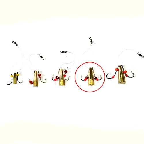 Мормышка Латунная Балда Бисер №7Мормышки, джиг-головки зимние<br>Мормышка латун. БАЛДА бисер №7 диам. 7мм/матер. <br>латунь/кр.№5/кол.в уп.10шт Балда – традиционно <br>русская снасточка-приманка предназначенная <br>для ловли рыбы в зимнее время со льда. Уникальность <br>и уловистость данной приманки состоит в <br>том, что ее игра в воде очень схожа с реальными <br>движениями личинки стрекозы. А как известно, <br>личинка стрекозы любимое лакомство таких <br>рыб как окунь, лещ, плотва и др. Соответственно <br>трофеями рыболовов при ловле на «балду» <br>становятся практически все рыбы водоема. <br>Производится данная приманка из полированного <br>латунного прутка диаметром 4, 5, 6, 7 и 8 мм. <br>Ассортимент выражен 5 размерами № 4 (диаметр <br>прутка 4 мм, крючок №8), № 5 (диаметр прутка <br>5 мм, крючок №7), № 6 (диаметр прутка 6 мм, крючок <br>№6), № 7 (диаметр прутка 7 мм, крючок №5), № <br>8 (диаметр прутка 8 мм, крючок №4). Крючки <br>по европейской классификации.На крючках, <br>имитирующих лапки насекомого, применяется <br>подсадка таких игровых акустических элементов <br>как латунный шарик, паетка, кембрик и бисер. <br>Каждое изделие упаковано в пло<br><br>Сезон: Зимний<br>Материал: Латунь