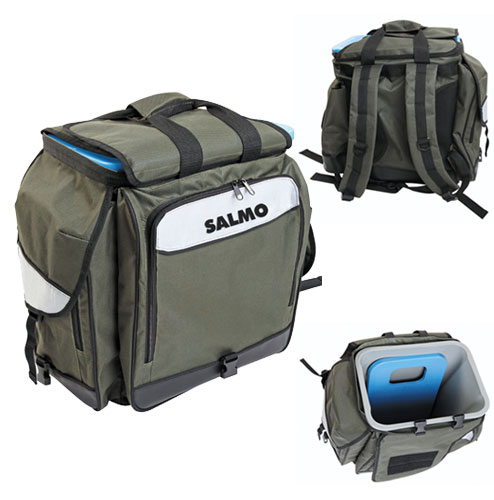Ящик-Рюкзак Рыболовный Зимний Salmo 61 (Из • Трёх Частей) 30Х38Х38См