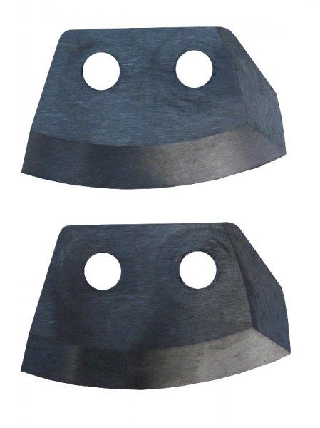 Ножи для ледобура HELIOS HS-110 (полукруглые)Ледобуры ручные<br>Ножи к ледобуру полукруглые диаметром <br>110 мм. Полукруглая форма ножей является <br>универсальной и подойдёт для сверления <br>различных видов льда. Отсутствие каких-либо <br>резких углов обеспечивает плавное сверление <br>при минимальном усилии. В комплекте с ножами <br>идут 4 крепёжных винта. Материал: высокоуглеродная <br>легированная сталь. Высокая твердость – <br>55-60 HRC.<br>