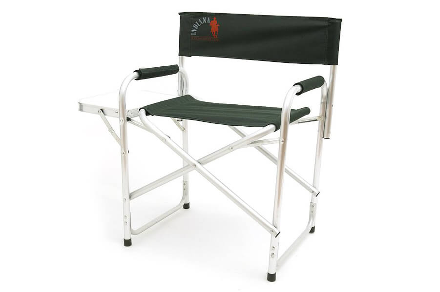 INDI-025T КреслоСтулья, кресла<br>INDI-025T Кресло<br>Кресло Indiana INDI-025T — недорогое и надёжное <br>дополнение для&amp;nbsp; комфортного отдыха на <br>природе. В конструкции ножек присутствует <br>поперечная труба, что придаёт креслу дополнительную <br>устойчивость и не позволяет ему проседать <br>на мягком грунте или песке. Сбоку предусмотрен <br>столик, на который можно поставить любимый <br>напиток, положить книгу или полезные мелочи.&amp;nbsp; <br>Складное кресло Indiana INDI-025T идеально подходит <br>для отдыха на пикнике, рыбалке, в кемпинге <br>или на даче. Размеры кресла в сложенном <br>виде позволяют его без труда перевозить <br>в машине. А благодаря такой приятной и полезной <br>мелочи, как боковой столик, ваше пребывание <br>на природе принесёт вам ещё больше удовольствия. <br>Ведь теперь все нужные предметы можно держать <br>под рукой. <br>Максимальная нагрузка: 120 кг <br>Размер кресла (в разобранном виде): 44 см <br>х 62 см х 80 см<br>Размер кресла (в собранном виде): 46 см х <br>79 см х 10 см <br>Размер откидного столика: 37 см х 25 см<br>