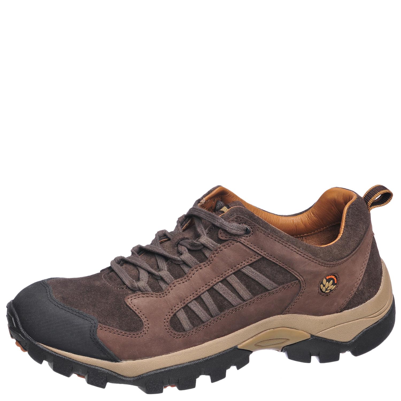 Ботинки мужские, треккинговые, коричневые Ботинки для трекинга<br>Мужские ботинки современного спортивного <br>дизайна из высококачественного натурального <br>нубука. Текстильная подкладка и стелька <br>из натуральной кожи износоустойчивы, гигроскопичны <br>и воздухопроницаемы. Комбинированная подошва <br>из резины и филона обладает высокой устойчивостью <br>к истиранию, гибкостью, обеспечивает дополнительную <br>амортизацию при ходьбе.<br><br>Пол: мужской<br>Размер: 43<br>Сезон: демисезонный<br>Цвет: коричневый