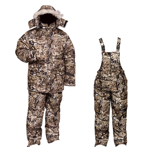 Костюм мужской Бекас зимний, подклад фольгированный, Костюмы утепленные<br>Мужской зимний костюм для низких температур. <br>Современная креативная расцветка «зимний <br>Paintball» позволяет использовать костюм как <br>в городе, так и на природе. Температурный <br>режим до -35С. Ткань верха - мембрана - пароотводящая. <br>непромокаемая. Костюм выполнен из куртки <br>и высокого полукомбинезона. Костюм так <br>же пригоден для использования охотниками. <br>т.к. ткань не шуршит. Куртка на двухзамковой <br>молнии с ветрозащитной планкой. Подкладка <br>Taffeta Omni-Heat. Технология температурной регуляции <br>Omni-Heat отражает и сохраняет собственное <br>тепло человека на 20% больше. отражая его <br>с помощью серебристых точек. и в тоже время <br>отводит излишнее тепло и влагу. Капюшон <br>пристёгивается кнопками. имеет утяжку и <br>защитный клапан на липучке. Куртка имеет <br>2 больших внешних кармана на талии. а также <br>2 прорезных кармана на груди (на кнопке) <br>и 1 внутренний карман. На рукавах есть внутренняя <br>манжета. Куртка имеет утяжку по талии. Полукомбинезон <br>на молнии. 2 кармана на бёдрах. 1 карман на <br>липучке расположен на груди. Внизу полукомбинезона <br>имеется расширение на молнии.<br><br>Пол: мужской<br>Размер: 56-58<br>Рост: 182-188<br>Сезон: зима<br>Цвет: коричневый<br>Материал: мембрана