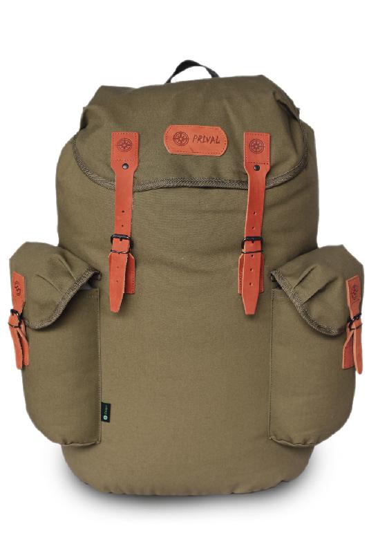 Рюкзак Скаут PRIVAL 40л авизент (хаки)Рюкзаки<br>Классический функциональный рюкзак. Надежный <br>спутник, который будет следовать за вами <br>на прогулке, в поездках и путешествиях на <br>протяжении многих лет. Большое отделение <br>для основного багажа, вместительные боковые <br>карманы с верхней загрузкой позволяют разместить <br>1,5 л флягу, дополнительную ветровлагозащитную <br>одежду или легкую обувь. При производстве <br>этой модели используется натуральный Авизент <br>(100% хлопок) плотностью 400 гр / м и высококачественная <br>натуральная кожа для фурнитуры. Назначение: <br>Туризм, рыбалка, охота Число лямок: 2 Тип <br>конструкции: Мягкий Грудная стяжка: Есть; <br>Поясной ремень: Есть; Боковая стяжка: Нет <br>Клапан: Есть; Ткань: Авизент (100% хлопок), <br>Объём, л: 40; 55; 70 Фурнитура: Натуральная кожа; <br>Сталь; Вес, кг: 1,1; 1,5; 1,8 Цвет: Хаки;<br><br>Пол: унисекс