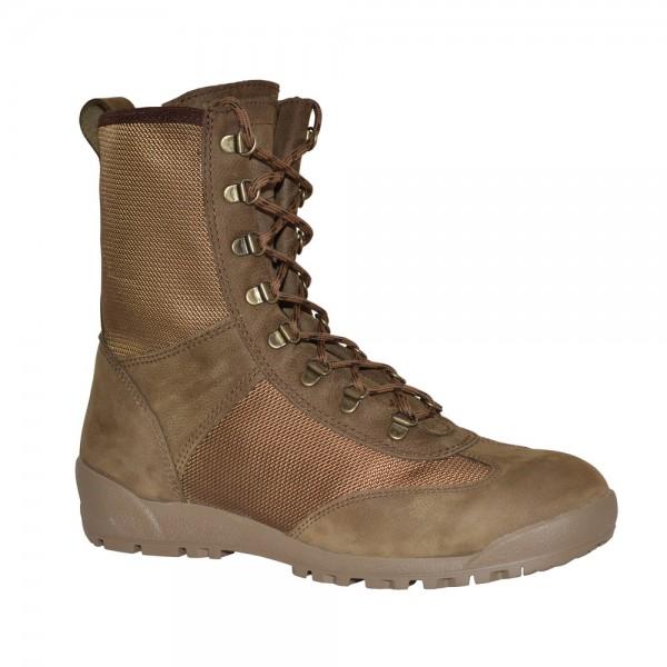 Ботинки Бутекс 12451 Кобра, коричневые (45)Ботинки для активного отдыха<br>Идеально подойдут для людей, которые выбирают <br>активный образ жизни. Легкие, будут актуальны <br>для ношения во время весеннего-летнего <br>сезона. Особенности: - металлический супинатор; <br>- глухой клапан, предохраняющий ногу от <br>воздействий окружающей среды; - система <br>скоростной шнуровки; - задник и подносок <br>сделаны из термопластического материала; <br>- удобный в эксплуатации мягкий кант; - подкладка <br>отсутствует; - амортизирующая вставка в <br>пяточной части.<br><br>Пол: мужской<br>Размер: 45<br>Сезон: лето<br>Цвет: коричневый<br>Материал: велюр