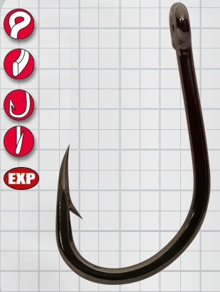 Крючок GAMAKATSU LS-5373 F №1/0 (6шт.)Одноподдевные<br>Созданы для работы с большой рыбой. Используется <br>для всех видов , от сома до тарпона. Смещенное <br>жало быстро проникает в ротовую полость. <br>Может быть использован для любых крупных <br>животных приманок.<br>
