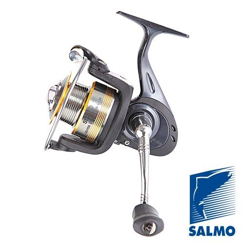 Катушка Безынерционная Salmo Diamond Bullet 6+1 35FdБезынерционные<br>Катушка безынерц. Salmo Diamond BULLET 6+1 35FD FD/6ш.п.+1р.п./285г/5.2:1/175м-0.25мм/шп.1Al+1С <br>Среднескоростная безынерционная катушка <br>универсального использования. Имеет прочный <br>корпус и ротор из графита. Основная шпуля <br>изготовлена из алюминиевых сплавов. Шестерни <br>изготовлены из высококачественной бронзы. <br>Механизм катушки качественно сбалансирован. <br>Плавная микрорегулировка переднего фрикциона. <br>• Тормоз фрикционный передний (с микрорегулировкой) <br>• 6 подшипников шариковых • 1 подшипник <br>роликовый • Мгновенный стопор обратного <br>хода (антиреверс) • Включатель антиреверса <br>флажковый нижний • Корпус карбопластовый <br>• Шпуля основная алюминиевая (облегченная) <br>• Шпуля дополнительная пластиковая (графитовая) <br>• Ролик лесоукладователя конусный увеличенный <br>(противозакручиватель) • Дужка лесоукладователя <br>полая прочная (облегченная) • Покрытие <br>износостойкое нитридом титана: - ролика <br>лесоукладователя - бортика шпули • Рукоятка: <br>- с винтовым типом фиксации - с возможностью <br>право/левосторонней установки • Ручка <br>эргономич<br><br>Сезон: лето