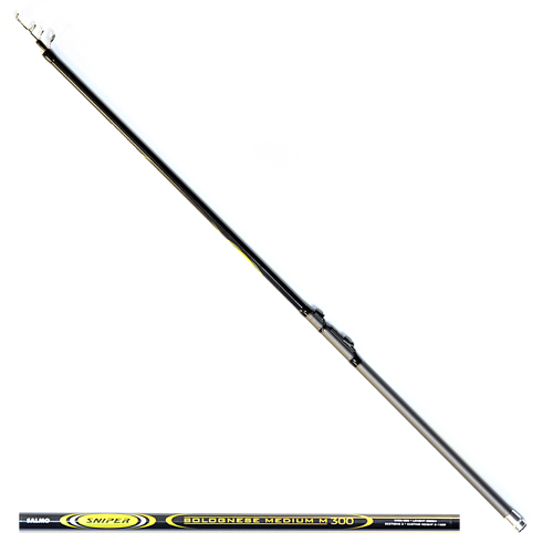 Удилище Поплавочное С Кольцами Salmo Sniper Удилища поплавочные<br>Удилище попл. с кол. Salmo Sniper BOLOGNESE MEDIUM M 3.00 <br>дл.3.00м/тест 3-15г/строй M/150г/3секц./дл.тр.120см <br>Телескопическое удилище среднего строя <br>из композита. Верхнее колено имеет дополнительное <br>разгрузочное кольцо, бланк укомплектован <br>кольцами со вставками SIC с креплением на <br>одной ножке. • Материал бланка удилища <br>– композит • Строй бланка средний • Конструкция <br>телескопическая Кольца пропускные: – дополнительное <br>разгрузочное – со вставками SIC • Рукоятка <br>с противоскользящим покрытием • Катушкодержатель <br>быстродействующего типа CLIP UP<br><br>Сезон: лето