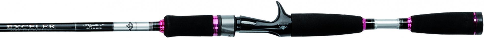 """Спиннинг штек. DAIWA Exceler EXSF 702 HFS 2,14м (14-56г)Спинниги<br>» Обновленная серия удилищ """"EXCELER FRESHWATER"""" <br>» Бланки из высокомодульного графита » <br>Катушкодержатель Click Adjust для надежной фиксации <br>(в моделях 6' и6'6'') » Пропускные кольца <br>со вставками SiC » Рукоятка из долговечного <br>материала EVA » Усиленное графитовой спиралью <br>нижнее колено<br>"""