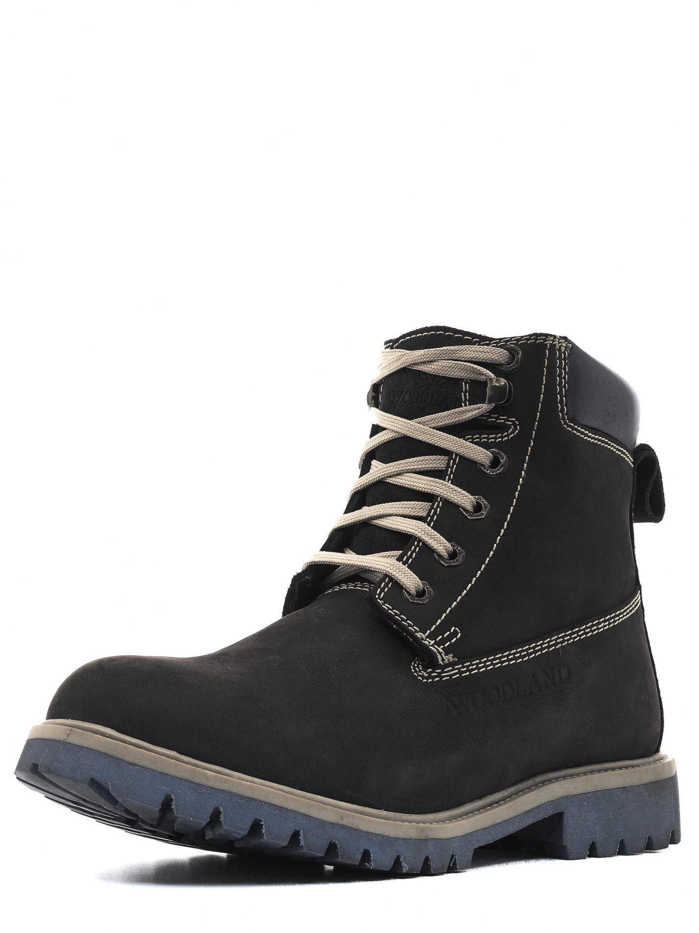 Ботинки мужские, треккинговые, чёрные GB1276113F Ботинки для трекинга<br>Удобные высокие ботинки из натурального <br>нубука. Комфортная, теплая подкладка и мягкая <br>стелька из искусственного меха согревают <br>ноги в сырую и холодную погоду. Гибкая, износостойкая <br>подошва из термопластичной резины (ТПР) <br>обладает противоскользящими свойствами <br>и устойчива к перепадам температур. Протектор <br>подошвы предотвращает скольжение. На заднике <br>модели - специальная петля для удобства <br>надевани<br><br>Пол: мужской<br>Размер: 41<br>Сезон: демисезонный<br>Цвет: черный