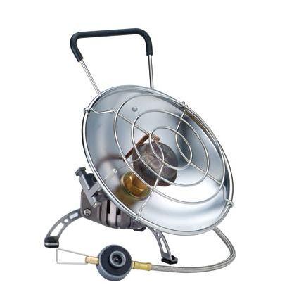 Обогреватель газовый Kovea КН-0710Обогреватель<br>Уникальный газовый обогреватель со шлангом, <br>с возможностью обогрева помещения и приготовления <br>пищи. Зажигается с помощью пъезоподжига, <br>имеет два положения отражателя: наклонное <br>– для обогрева и горизонтальное – для приготовления <br>пищи. Оба положения жестко фиксируются <br>крепежным болтом, при этом исключается <br>возможность изменения положения отражателя <br>и опрокидывания кастрюли при готовке. Сетка <br>отражателя достаточно частая, чтобы готовить <br>еду или кипятить воду даже в кружке или <br>турке. Для более стабильной работы на холоде <br>в конструкции обогревателя имеется Anti-Flare <br>System – система предварительного подогрева <br>газа. Обогреватель работает от баллона <br>резьбового стандарта, но возможно и подсоединение <br>к цанговому баллону при помощи адаптера <br>КА-9504, который поставляется в комплекте. <br>Это очень удобная модель для зимней рыбалки, <br>когда наряду с обогревом рыболовного укрытия, <br>в перерывах между клевом, вы сможете параллельно <br>вскипятить еще чашку чаю или тут же употребить <br>только что пойманную рыбу под рюмку согревающего <br>напитка, не думая о постоянно мерзнущих <br>руках. Комплектация: Газовый обогреватель, <br>пластиковый кофр, адаптер КА-9504 для подключения <br>к цанговому баллону, инструкция по эксплуатации. <br>Модель KH-0710 Вес 565 г Расход топлива 66 г/ч <br>Размер упаковки 190x180x190 мм Мощность 0.9 кВ <br>Пъезоэлемент есть<br>