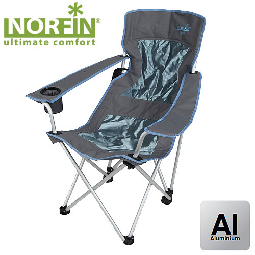 Кресло Складное Norfin Leknes Nfl Алюминиевое NFL-20202