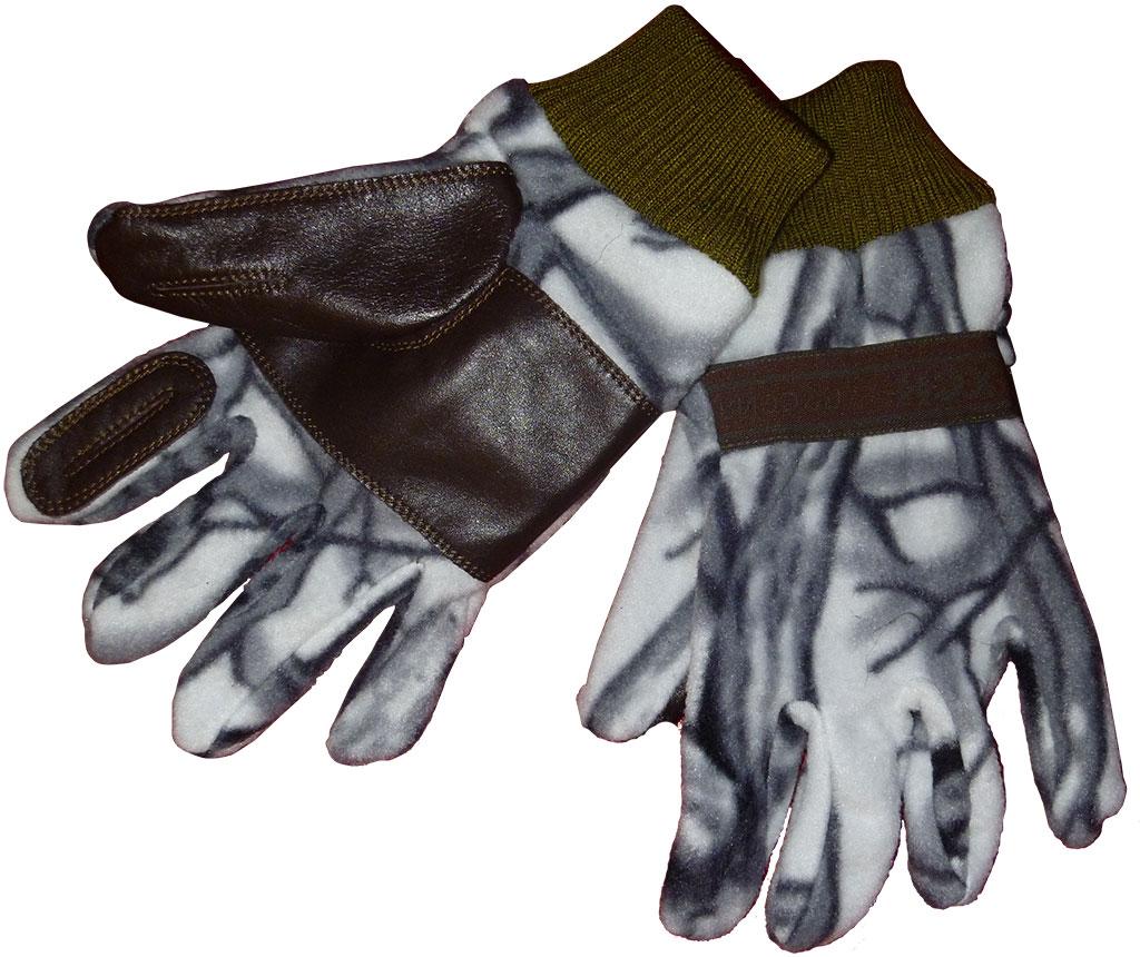 Перчатки ХСН охотника флис-кожа (734-4) (Белый Перчатки<br>Перчатки предназначены специально для <br>охотников. Конструкция позволяет стрелять <br>из оружия, не снимая их.<br><br>Пол: мужской<br>Размер: XL-XXL<br>Сезон: все сезоны<br>Цвет: серый<br>Материал: флис