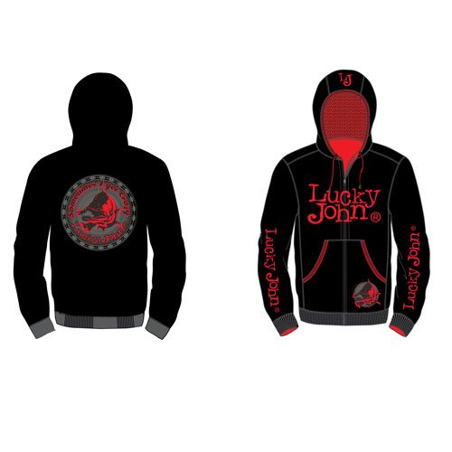 Куртка Lucky John (XL, LJ-103-XL)Толстовка Lucky John, мат.20% хлоп, 80%мат.полиэстер. <br>Удобная и комфортная для любого вида активности.<br><br>Пол: мужской<br>Размер: XL<br>Сезон: все сезоны<br>Цвет: черный<br>Материал: текстиль