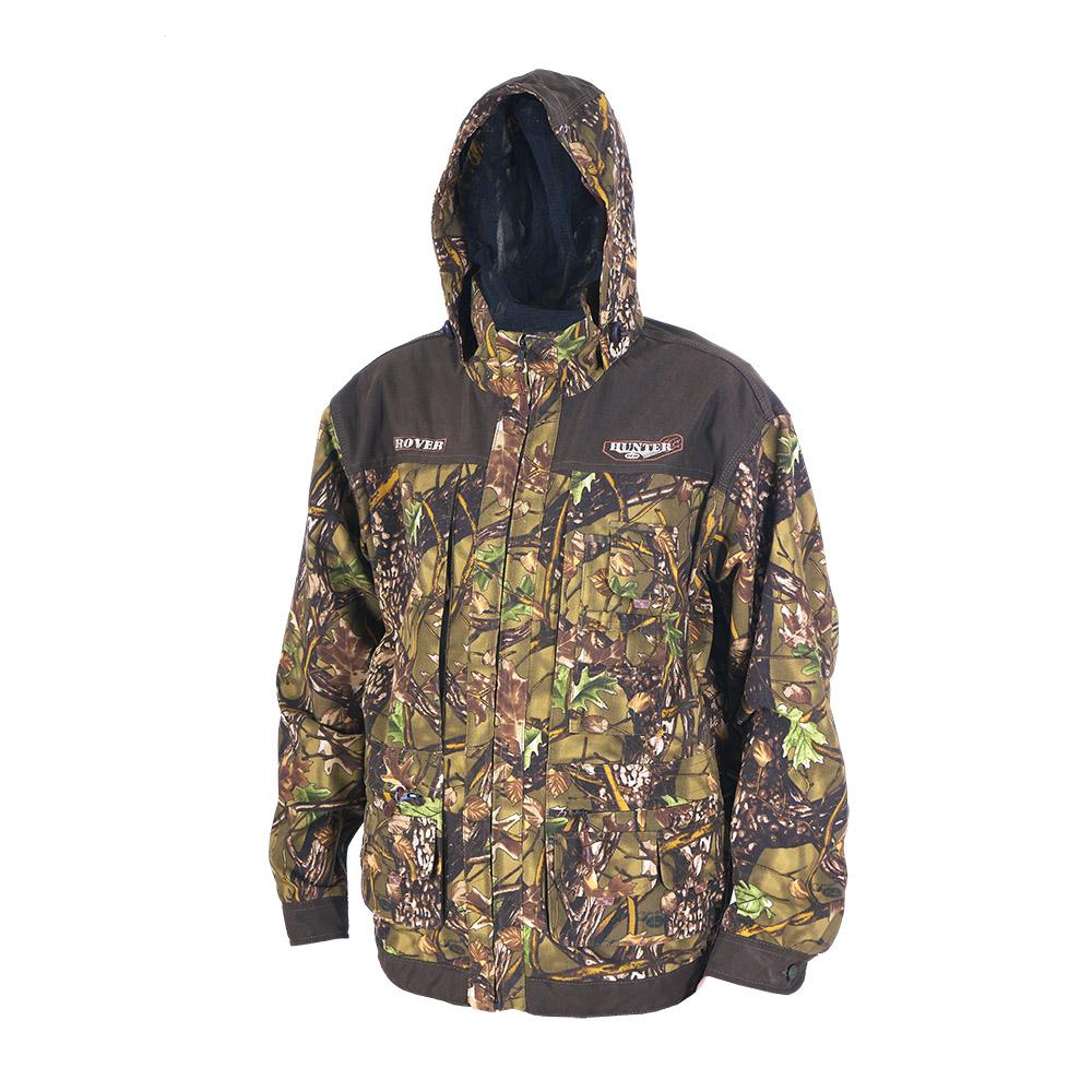 Куртка ХСН «Ровер-охотник» (9792-2) (Лес, 54 Куртки неутепленные<br>Отлично подойдет любителям охоты и активного <br>отдыха. Куртка изготовлена из нешуршащей <br>хлопкоэфирной ткани с водоотталкивающей <br>пропиткой. Комфортная температура эксплуатации: <br>от +10°С до +20°С. Особенности: - утягивающийся <br>съемный капюшон с козырьком; - вшитая противомоскитная <br>сетка; - 11 объемных карманов, позволяющих <br>удобно разместить в них флягу, телефон и <br>все необходимое; - особый крой рукава, обеспечивающий <br>свободу движения; - застегивается на молнию; <br>- усиленная ткань на плечах; - манжеты на <br>пуговицах с возможностью регулировки ширины; <br>- двойной джинсовый запошивочный шов.<br><br>Пол: мужской<br>Размер: 54 - 56 / 188<br>Сезон: лето<br>Цвет: коричневый<br>Материал: Хлопкополиэфирная ткань